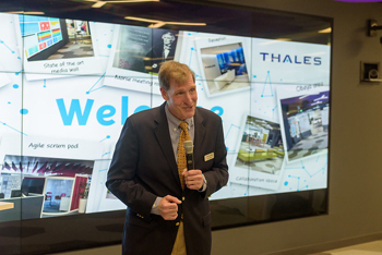 Alan Kessler, CEO Thales eSecurity