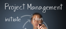 Project management from the first day and maintained throughout!